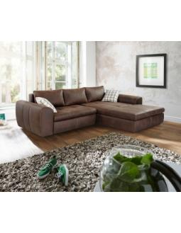 Ecksofa mit schlaffunktion braun  seating areas :: StyleTrieb